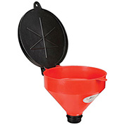 """Wirthco Funnel King 32425 4 Qt. Drum Funnel with 2"""" Threads & Lockable Lid"""