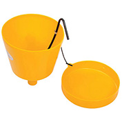 """Wirthco Funnel King 32015 8 Qt. E-Z Smart Drum Funnel with 2"""" Threads"""