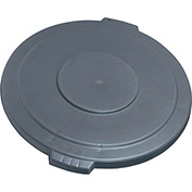 Bronco Lid for 55 Gallon Waste Container, Gray