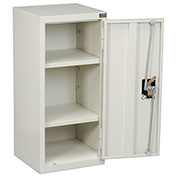 Assembled Wall Storage Cabinet, 13-3/4 x 12-3/4 x 30, White