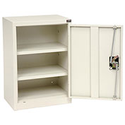 Assembled Wall Storage Cabinet, 18 x 12 x 26, White