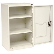 Assembled Wall Storage Cabinet, 19-7/8 x 14-1/4 x 32-3/4, White