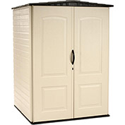 "Medium Storage Shed, 4'4""W X 4'D X 6'H"