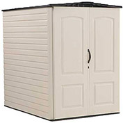"Large Storage Shed, 4'4""W X 6'D X 6'H"