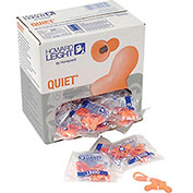 Howard Leight Quiet Multiple Use Corded Earplug, 100 Pairs/Box
