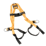 Miller Titan Non-Stretch Harness, Mating Buckle Legs, Orange