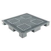 Stackable Plastic Pallet, 47-1/8x47-1/8x5""