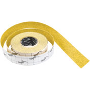 "Yellow w/ Black Fleck Anti-Slip Traction Stadium Grit Tape Roll, 2"" x 60 Feet"