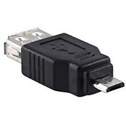 Network Adapter, USB A Female To Micro B Male