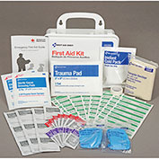 First Aid Kit, 25-Person ANSI Compliant, Plastic