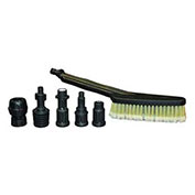 AR North America PW3218 Utility Brush with Adapters