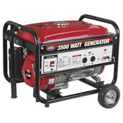 All Power Generator with Mobility W/O 240V, 3500W, 6.5 HP