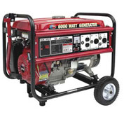 All Power Generator with Mobility Kit, 6000W, 13 HP
