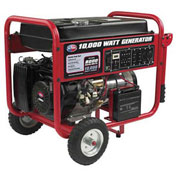 All Power Portable Generator Electric Start w/ Wheel Kit & Battery Included, 10000W