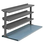 "3 Shelf Production Booster, 72""W X 36""H, Evergreen"