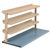"3 Shelf Production Booster, 72""W X 36""H, Putty"