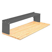 "30"" Aerial Shelf For Bench, Office Gray"