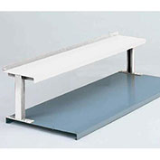 "1 Shelf Production Booster, 60""W X 14""H, Reflective White"