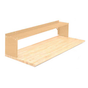 "1 Shelf Production Booster, 72""W X 14""H, Putty"