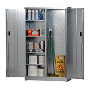 Combination Cabinet, Galvanized Steel, 44 x 15 x 72