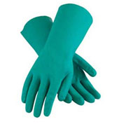 Unlined Unsupported Nitrile Gloves, 15 Mil, Green, XL, 1 Pair
