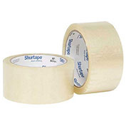 "Shurtape® Carton Sealing Tape, 3"" x 1500 Yds, 1.8 Mil, Clear - Pkg Qty 4"