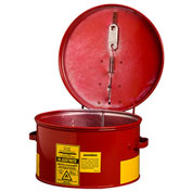 Justrite 27601 Dip Tank, 1-Gallon, Red