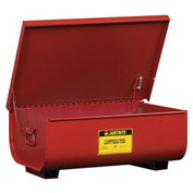 Justrite 27322 Bench Top Rinse Tank, 22-Gallon, Red
