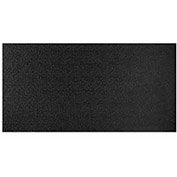 Genesis Stucco Pro PVC Ceiling Tile, Waterproof & Washable, 2'L X 4'W, Satin Black