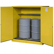 """RELIUS SOLUTIONS Upright Cylinder Cabinet - 60x32x65"""" - 10-20 Cylinders - Aluminum - Set Up"""