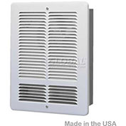 King Forced Air Wall Heater, 1000W, 120V, White