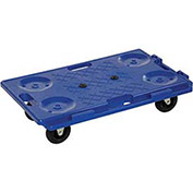 "Interlocking Plastic Dolly, 26""L x 16""W, 250 Lb. Capacity"