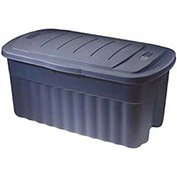 Rubbermaid Roughneck Jumbo Storage Tote, 40 Gallon, Gray - Pkg Qty 6