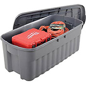 Rubbermaid Roughneck Jumbo Tote, 50 Gallon, Gray - Pkg Qty 4