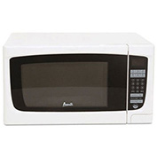 "Electronic Microwave Oven, 1.4 Cubic Feet, 21-3/4""W x 18""D x 12-1/3""H, 1000 Watt, White"