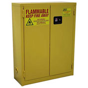 "Flammable Cabinet RG20 Manual Close Single Door Wall Mount 20 Gallon, 34""Wx12""Dx44""H"