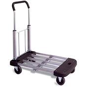 WESCO Folding Platform Truck - Telescoping Deck