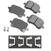 Akebono® ACT1160 - Pro-ACT Series Ultra Premium Ceramic Disc Brake Pads