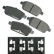 Akebono® ACT1161 - Pro-ACT Series Ultra Premium Ceramic Disc Brake Pads