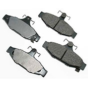 Akebono® ACT413 - Pro-ACT Series Ultra Premium Ceramic Disc Brake Pads