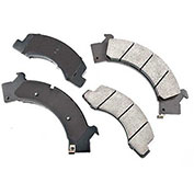 Akebono® ACT675 - Pro-ACT Series Ultra Premium Ceramic Disc Brake Pads