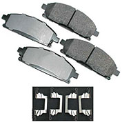 Akebono® ACT691 - Pro-ACT Series Ultra Premium Ceramic Disc Brake Pads