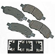 Akebono® ACT1169A - Pro-ACT Series Ultra Premium Ceramic Disc Brake Pads