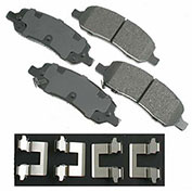 Akebono® ACT1172 - Pro-ACT Series Ultra Premium Ceramic Disc Brake Pads