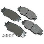 Akebono® ACT1178 - Pro-ACT Series Ultra Premium Ceramic Disc Brake Pads
