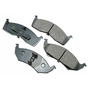 Akebono® ACT642 - Pro-ACT Series Ultra Premium Ceramic Disc Brake Pads