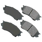 Akebono® ACT643 - Pro-ACT Series Ultra Premium Ceramic Disc Brake Pads