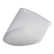 3M™ Polycarbonate Faceshield, Clear, 10/Box, WP96