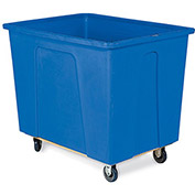 "WESCO Box Trucks - 5"" Polyurethane Casters - 34""Wx46""Dx40""H - Blue"