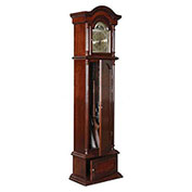 American Furniture Classics The Gunfather Clock Gun Storage Cabinet, 6 Long Guns, Wood